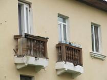Балконная парочка. Кто кого переживет?