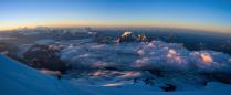 Вид с Эльбруса