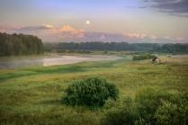 Вид на долину реки Тигода