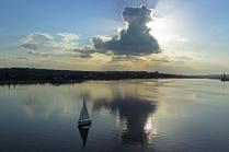 Вечер на реке Камышинка