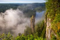 Morning on Usva river