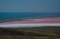Цветные мазки на полотне Земли