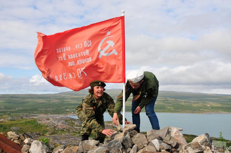 Знамя Победы над Муста-Тунтури
