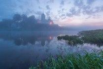 Перед рассветом на реке Чусовой