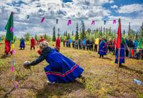 Женский саамский футбол