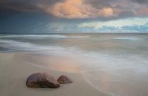 Рассвет на Балтийском море.