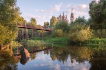 Храм Иоанна Предтечи в селе Парское.