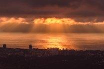 Закат над Сочи