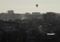 Шар над городом