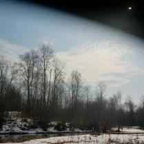 Затмение Солнца в Подмосковье