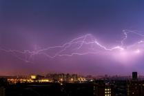 Молния над Москвой