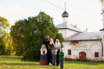 Семья староверов Безгодовых