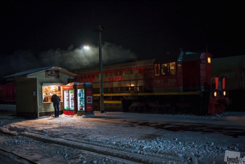 Transsiberian night