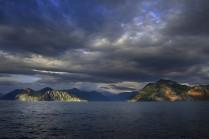 Рассвет в Тихом океане