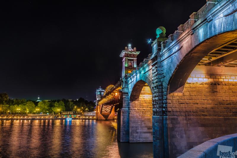 Москва. Андреевский мост.