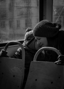 Разговор в трамвая