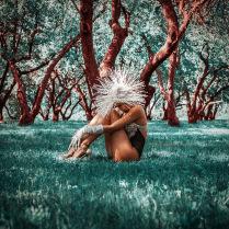 Волшебный лес. Инопланетянка