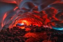 Снежный тоннель.