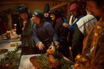 Средневековый Пир под Рождество. Зеваки и чудеса кулинарии.