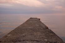 Крым. Тихое Черное море
