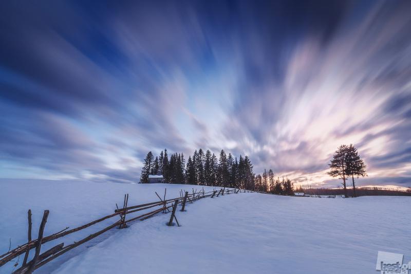 Закат в Кенозерье