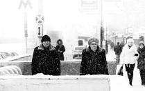 Двое в Городе. Снегопад