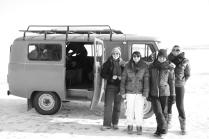 Visit on Baikal lake