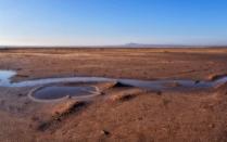 Большое Богдо со стороны соленого озера