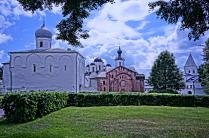 Красота церквей Великого Новгорода