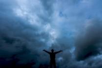 Гагарин и небо
