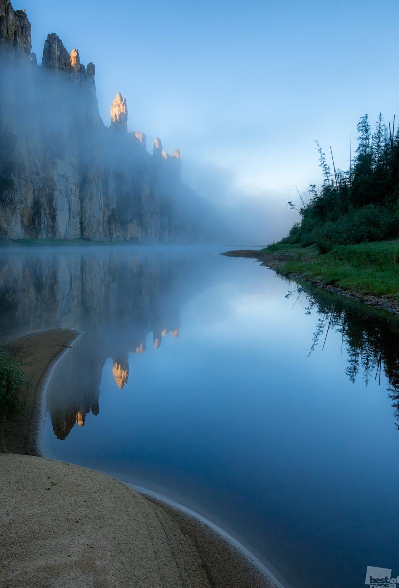 Туманные замки Синей реки
