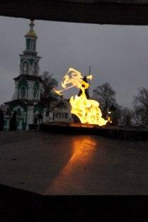 Танец огня.