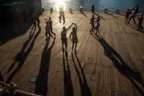 Танцы в парке Горького