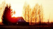 Закат в Красном