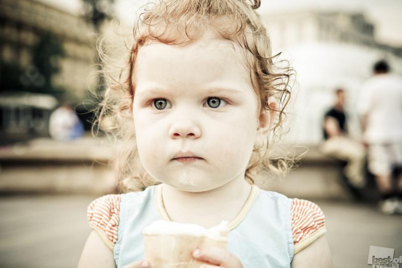 я люблю мороженко