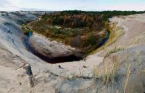 Оазис в песках