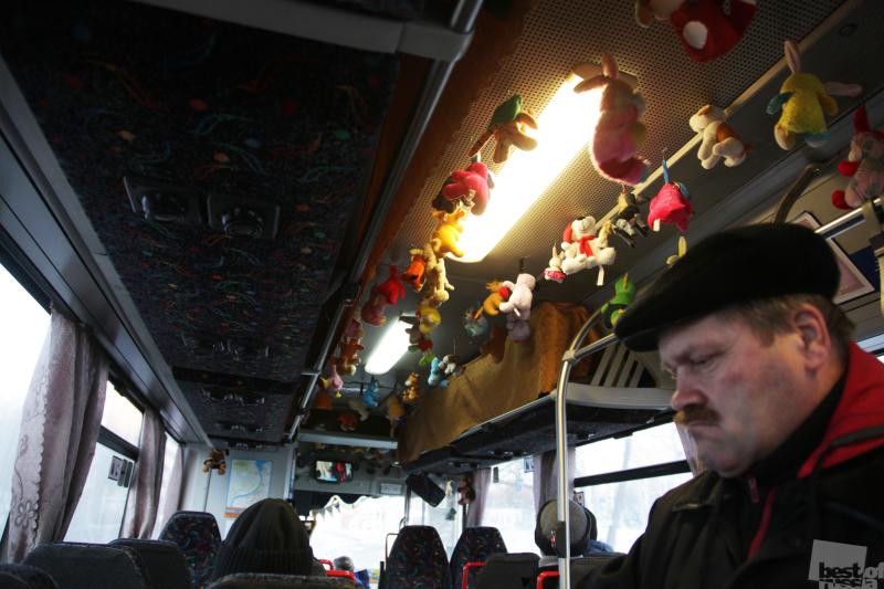 Пермский автобус.