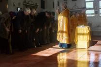 Утреннее служение в церкви на Базаихе