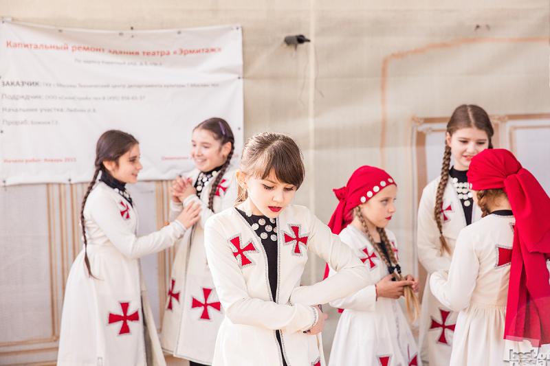 Перед выступлением, Тбилисоба 2015