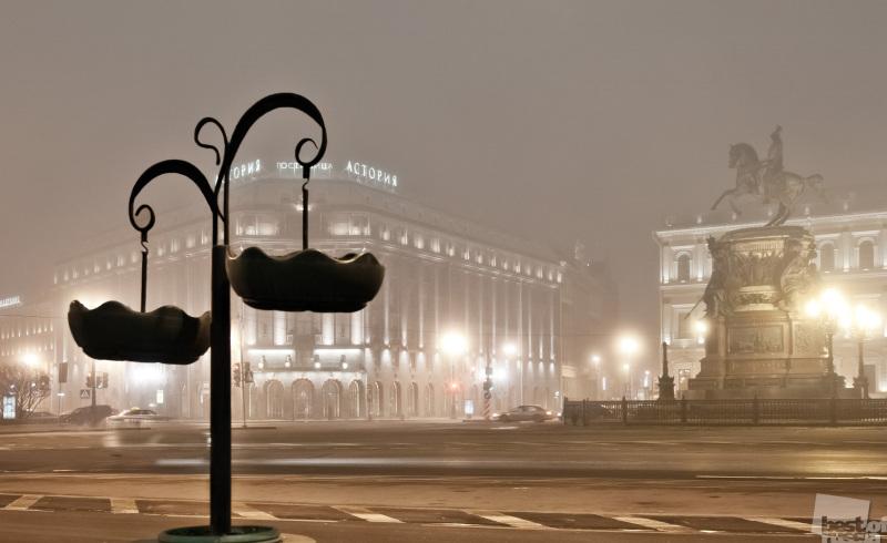 Туманный Санкт-Петербург