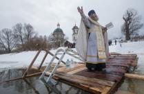 Праздник Крещения Господня в селе Поречье.