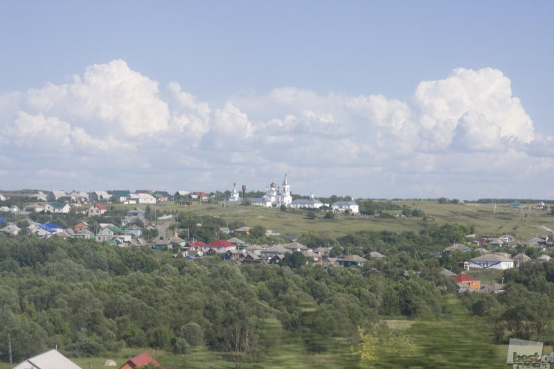 Россия из окна вагона