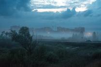 Вечерний туман над Демой.