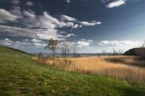 Пейзаж на берегу Волги