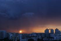 солнце в дожде