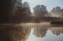 Суперлуние на реке Рожайка