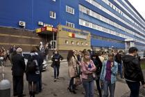 эвакуация людей из офисного центра