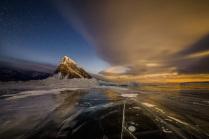 Восход Луны над Байкалом