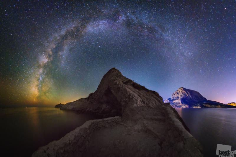 Млечный Путь над Коба-Кая