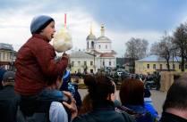 Реконструкция  Великой Отечественной войны  в древнем городе.
